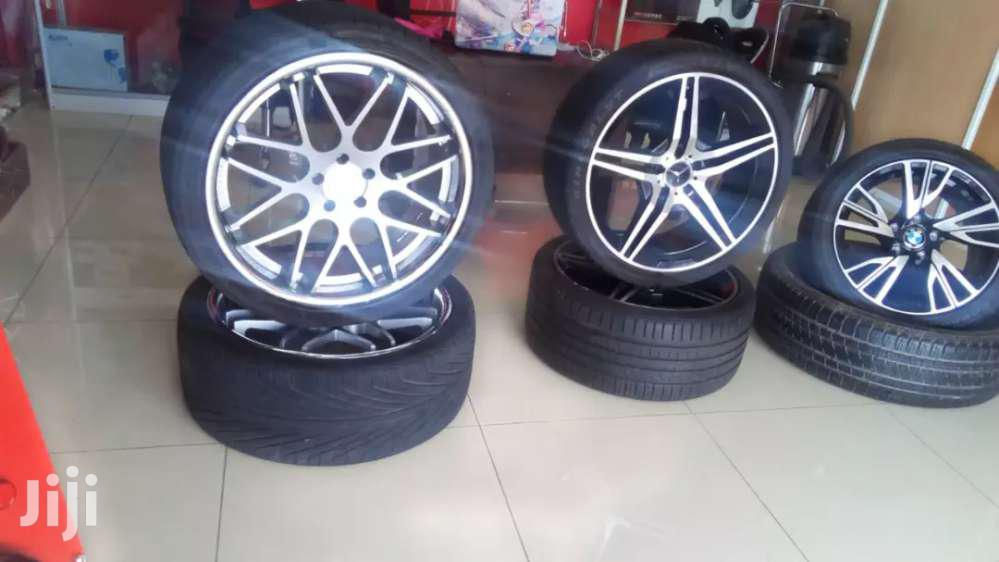 BMW X6/X5 Chrome Rims Size 22 With Tyres | Vehicle Parts & Accessories for sale in Langata, Nairobi, Kenya