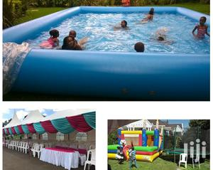 Tents, Tables, Chairs, Decor, Bouncy Castles Water Pool For Hire