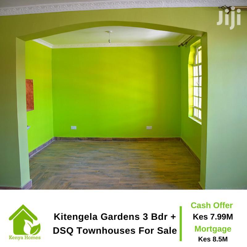 Kitengela Gardens 3 Bdr + DSQ Townhouses for Sale | Houses & Apartments For Sale for sale in Nairobi Central, Nairobi, Kenya
