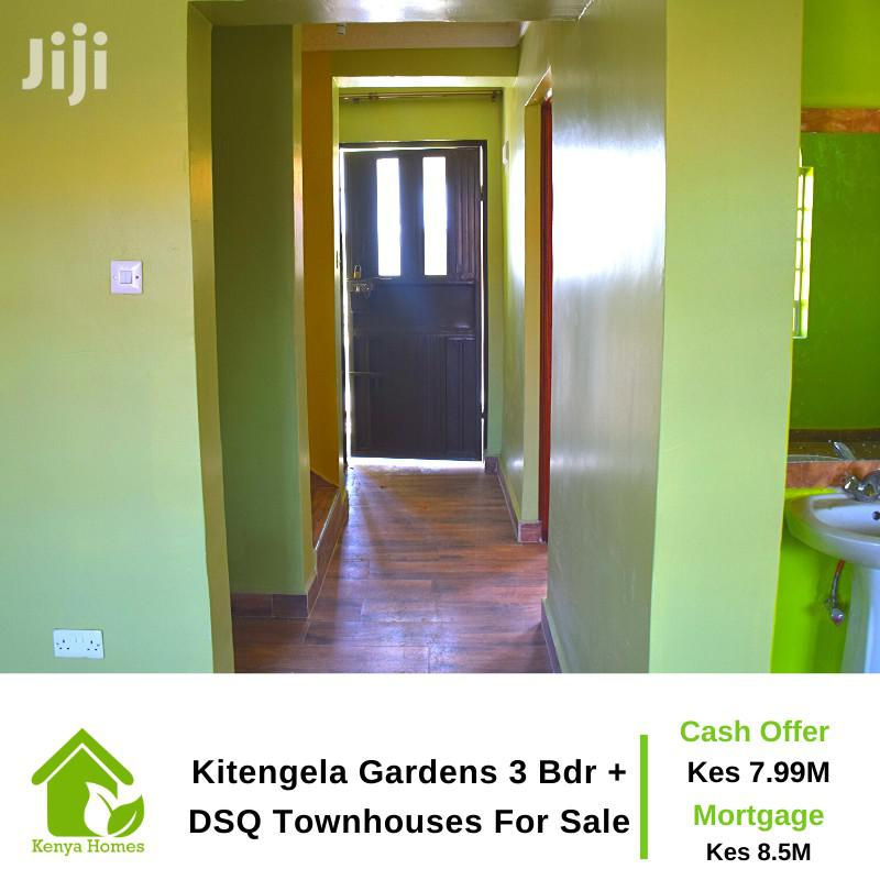 Archive: Kitengela Gardens 3 Bdr + DSQ Townhouses for Sale