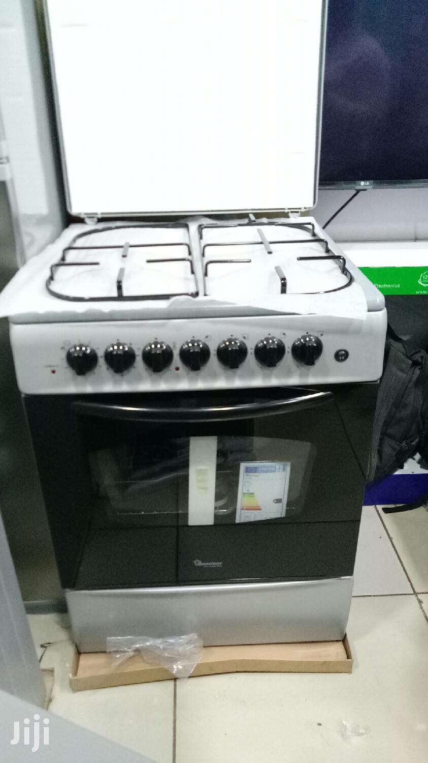 Archive: Ramtons 3gas 1 Electric Standing Cooker Silver
