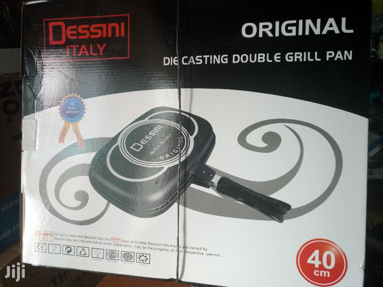 Super Durable Double Grill Pan 40cm