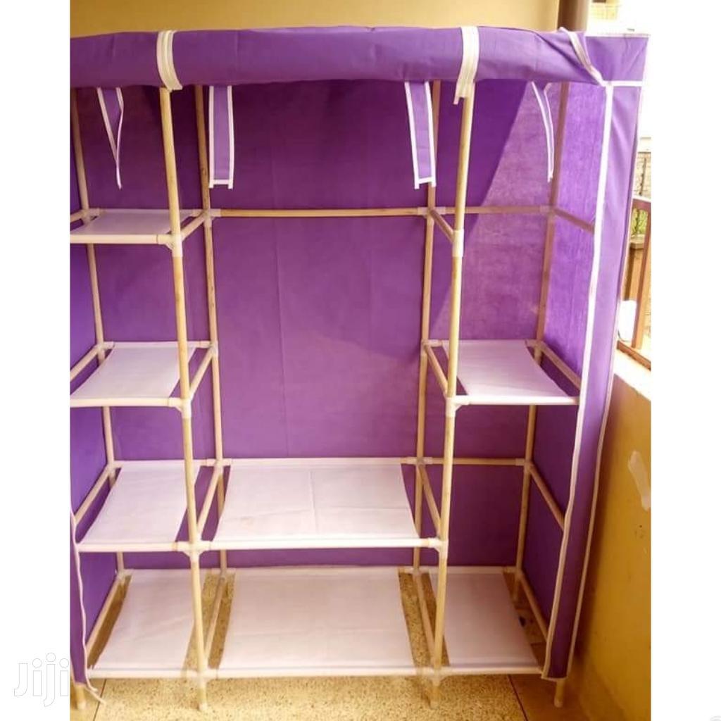 Durable Wooden Frame Portable Wardrobes