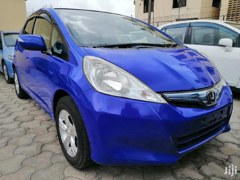 Honda Fit 2012 Blue