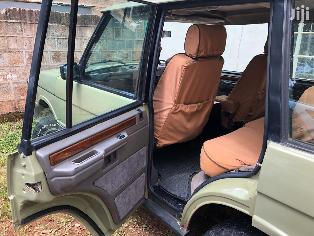 Archive: Land Rover Range Rover Vogue 1994 Green