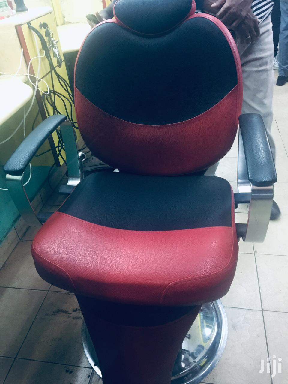 Black And Red Seat