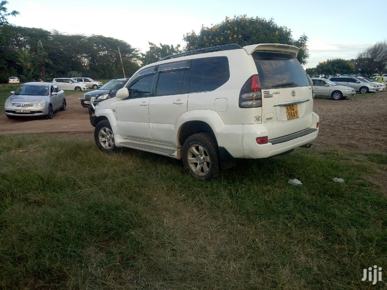 Toyota Land Cruiser Prado 2004 White | Cars for sale in BuruBuru, Nairobi, Kenya