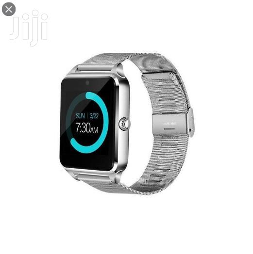 Z60 Smart Bracelet/ Phone Watch Gold And Silver