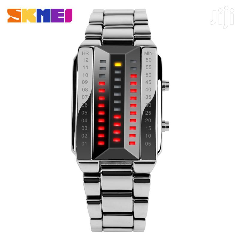Skmei 1013 LED Watch Stainless Steel Strap | Watches for sale in Nairobi Central, Nairobi, Kenya