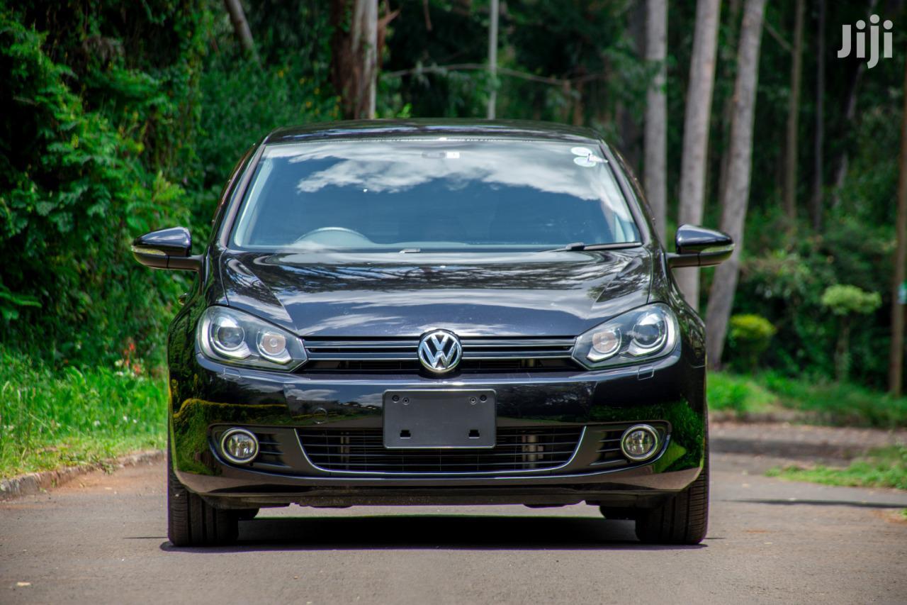 Volkswagen Golf 2013 Black