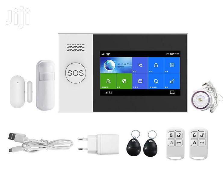 Touch Smart Wireless Alarm System With GSM And Wifi.