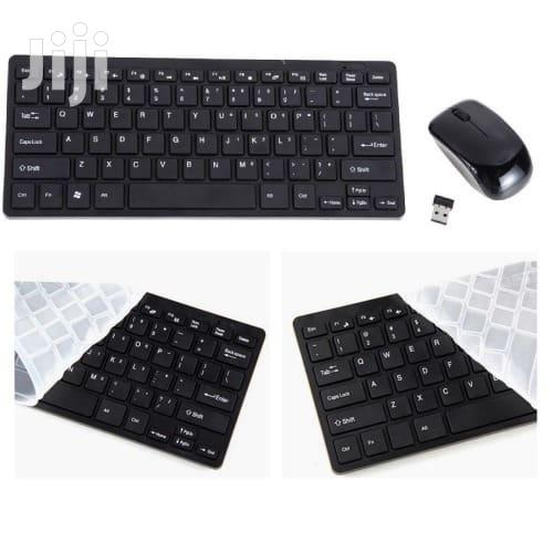 Wireless Mini Keyboard And Mouse