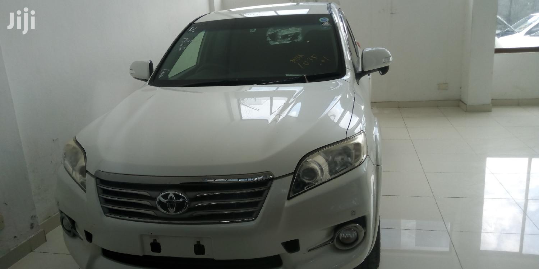 Toyota Vanguard 2012 White   Cars for sale in Mvita, Mombasa, Kenya