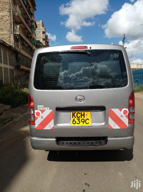 Toyota Hiace 2009 Silver   Buses & Microbuses for sale in Nairobi Central, Nairobi, Kenya