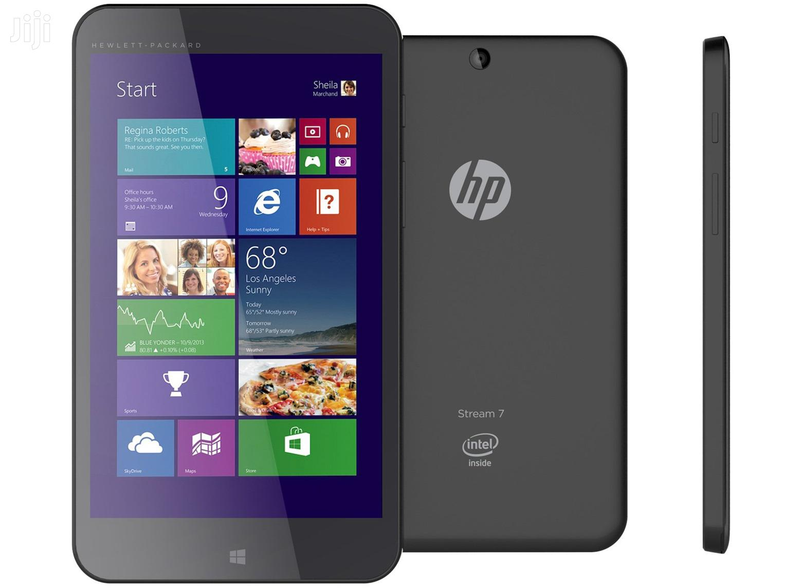 "New HP 7"" 32GB Black 