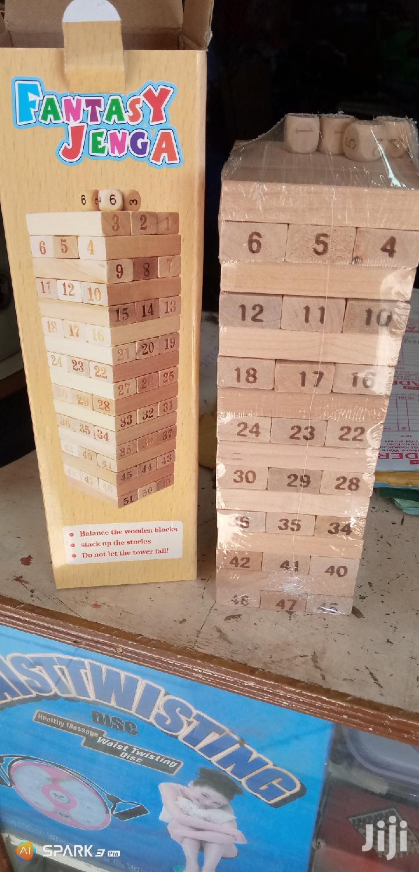 Archive: Jenga Block Tower Game