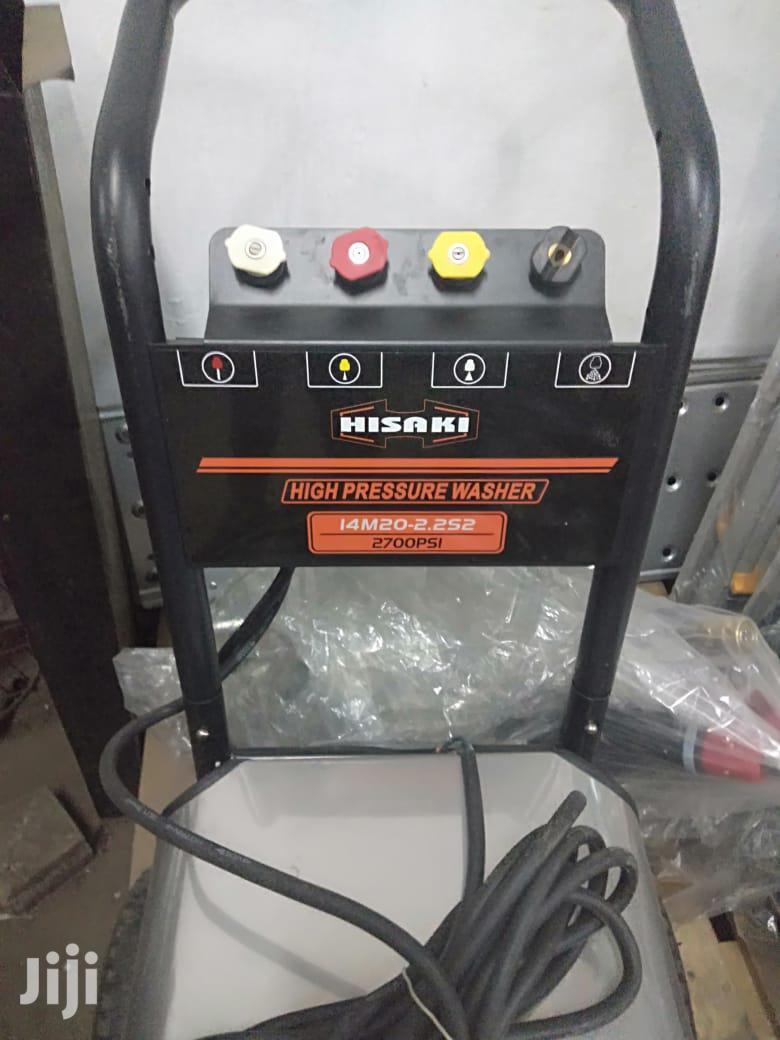 High Pressure Hisaki Car Wash Machines For Sale | Vehicle Parts & Accessories for sale in Nairobi South, Nairobi, Kenya
