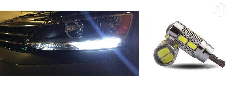 2X Parking LED Bulbs: T10: For Toyota,Nissan,Subaru,Mazda,Honda,Ford