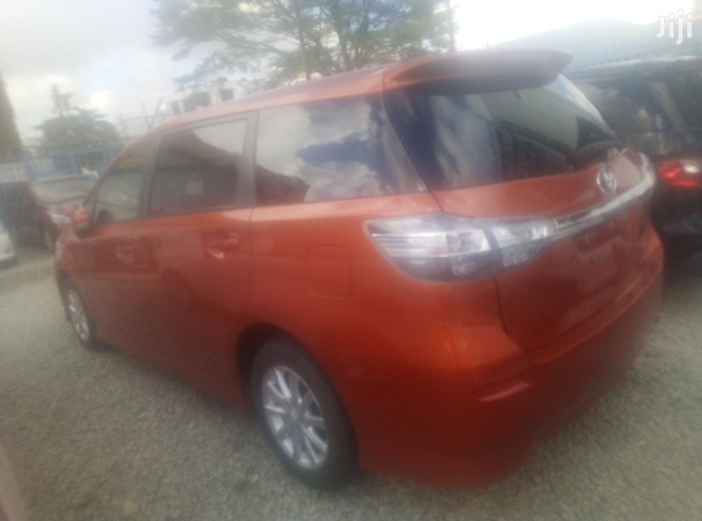 Archive: Toyota Wish 2013 Orange