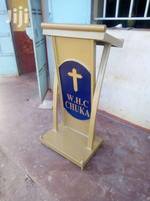 Archive: Pulpits/Podiums