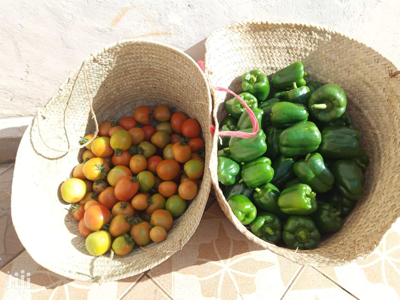 Archive: Organic Tomatoes And Green Peppers