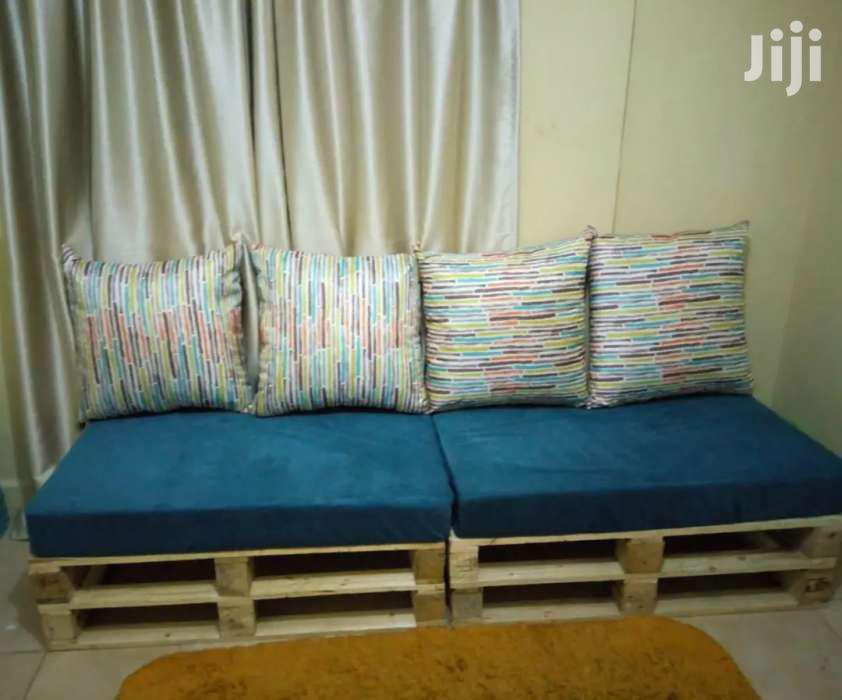 4 Seater Pallet Seat/Pallet Furniture | Furniture for sale in Donholm, Nairobi, Kenya