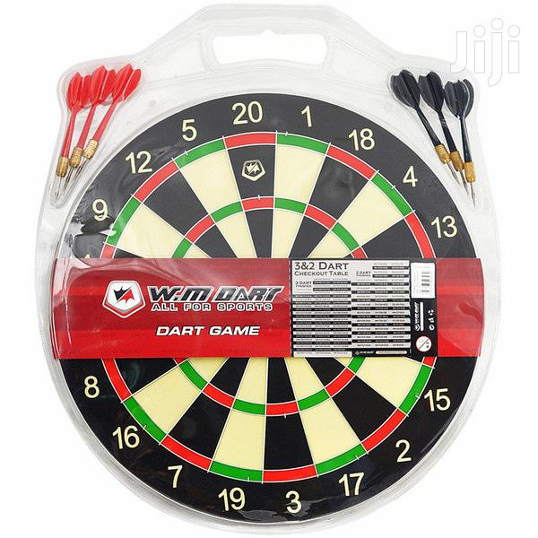 Dartboard Medium Size 15 Inches With 6 Darts Party Game Set