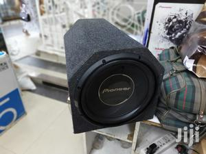 Pioneer 1400 Single Coil Deep Bass Subwoofer in Tube Tube Cabinet | Vehicle Parts & Accessories for sale in Nairobi, Nairobi Central