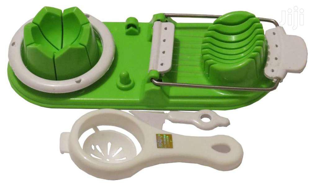 Egg Cutter , Slicer & Yolk Seperator