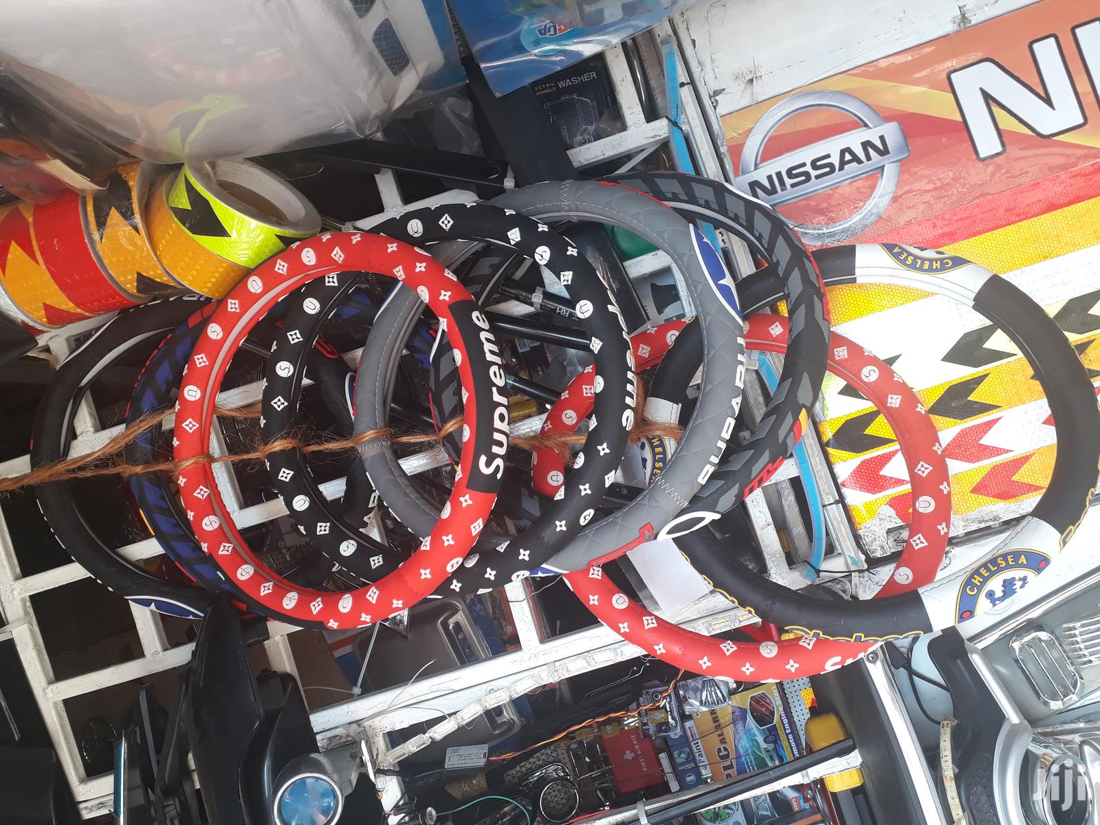 Heavy Duty Branded Rubber Steering Wheel Covers | Vehicle Parts & Accessories for sale in Nairobi Central, Nairobi, Kenya