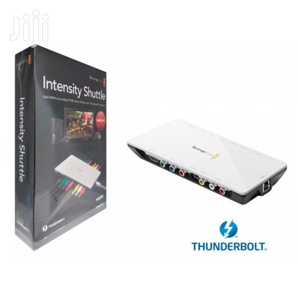 Blackmagic Design Intensity Shuttle With Thunderbolt Capture In Westlands Accessories Supplies For Electronics Pc Today Westlands Jiji Co Ke