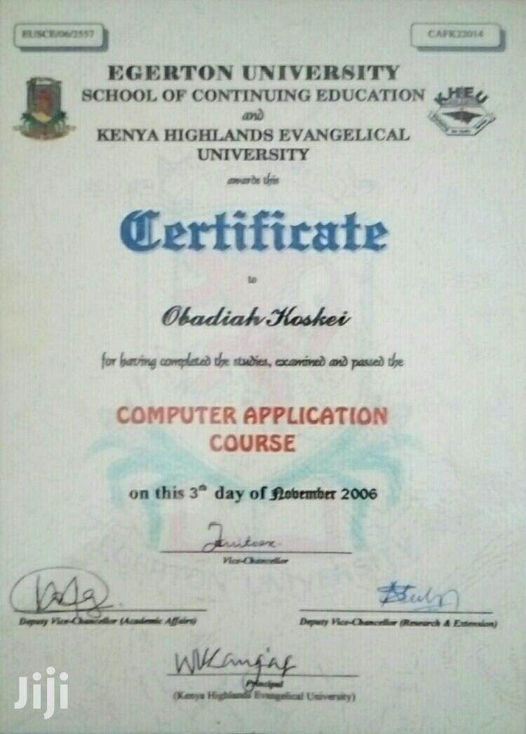 Part-time And Weekends Jobs | Technology CVs for sale in Kapsuser, Kericho, Kenya