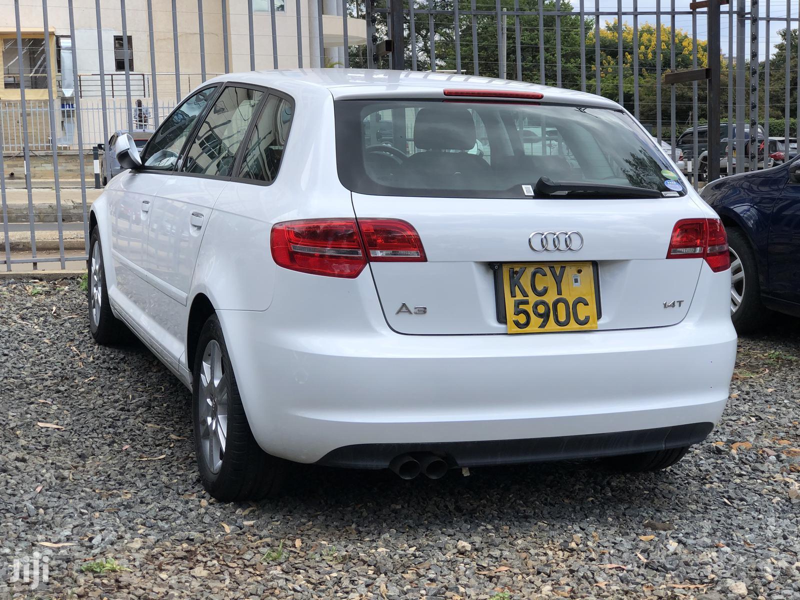 Audi A3 2012 1.4 TFSi White | Cars for sale in Kilimani, Nairobi, Kenya