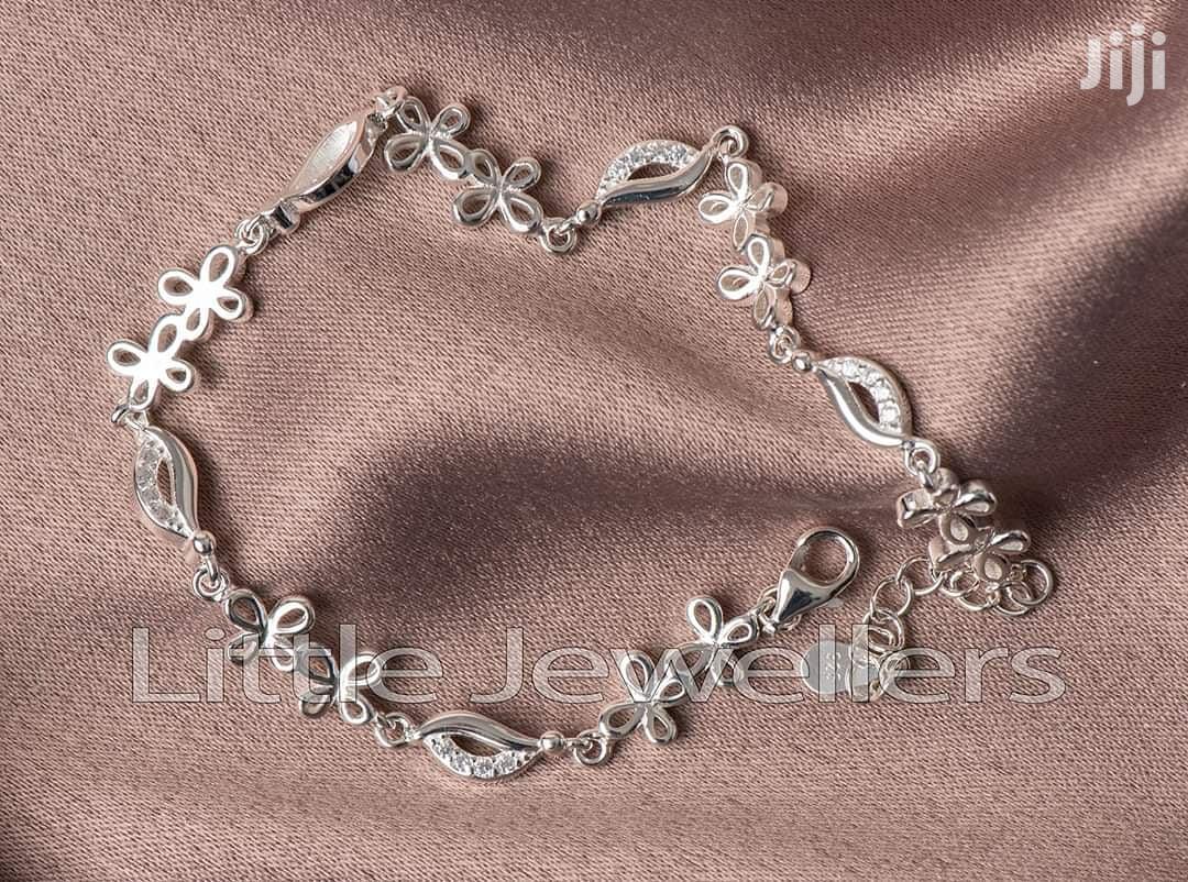 Sterling Silver Bufferfly Bracelet