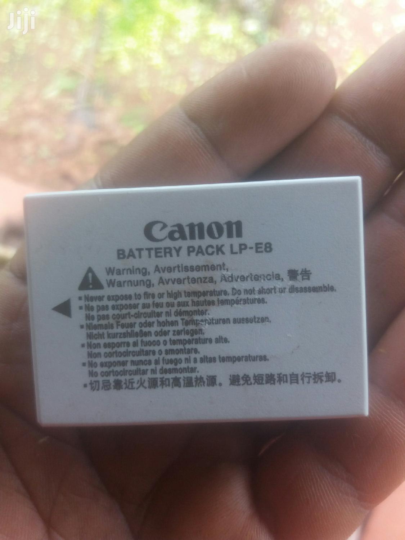 Archive: Canon Battery Pack Lp-e8