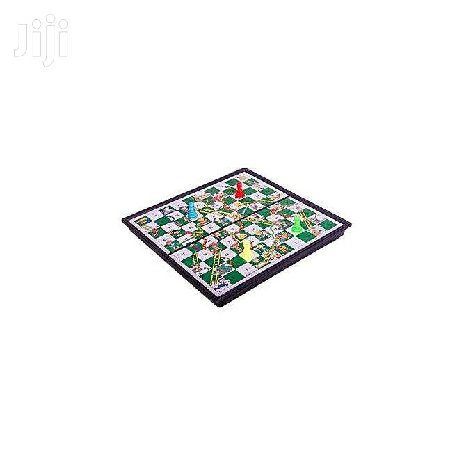 Snakes And Ladders Magnetic Board Game Educational Learning T