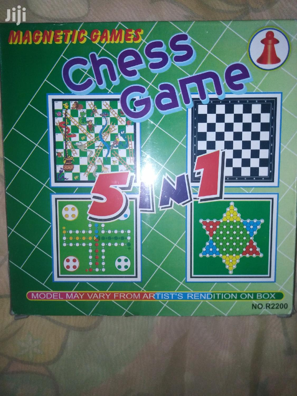 5-in-1 Game Chess Set | Books & Games for sale in Nairobi Central, Nairobi, Kenya
