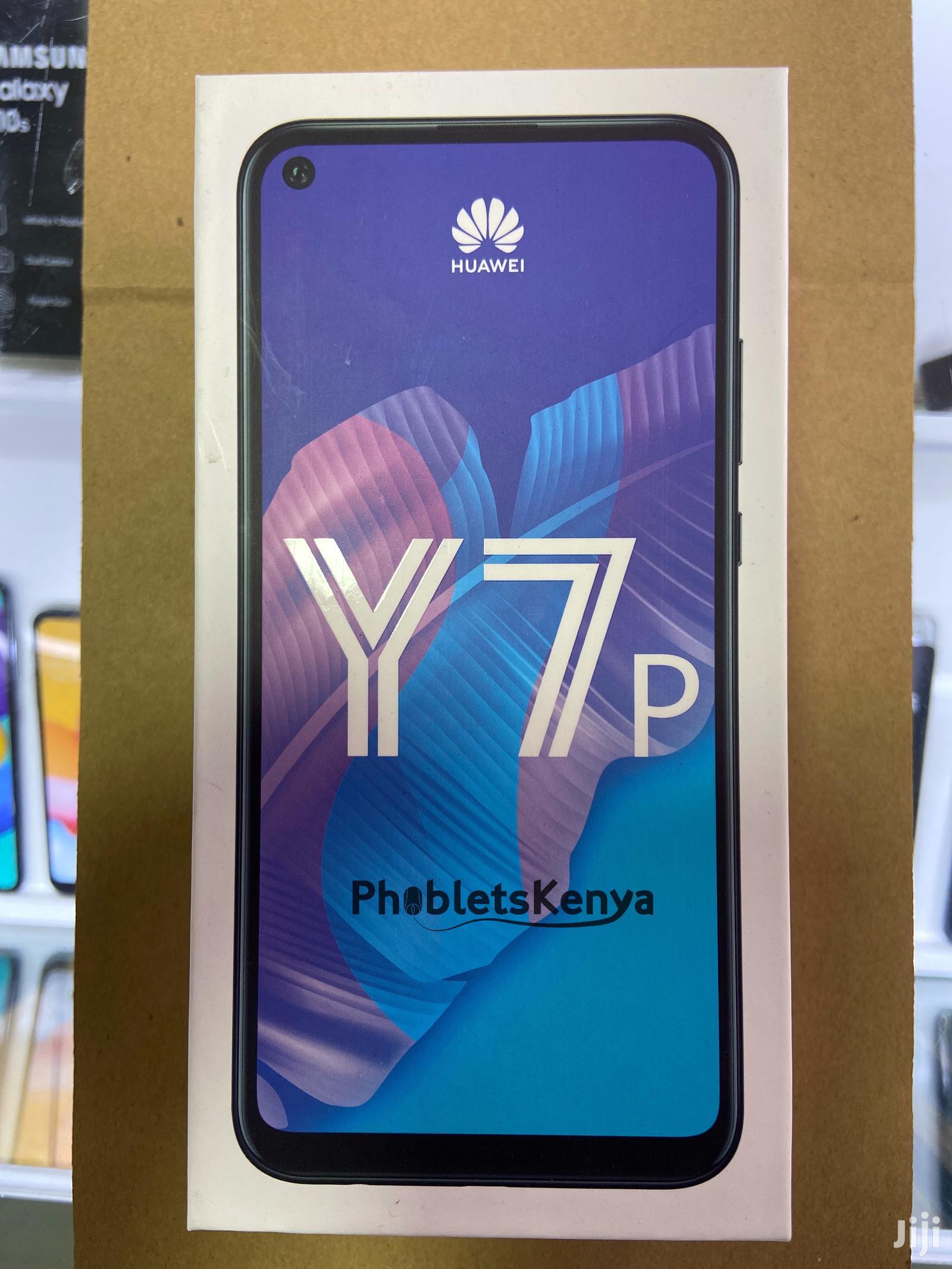 New Huawei Y7p 64 GB Black