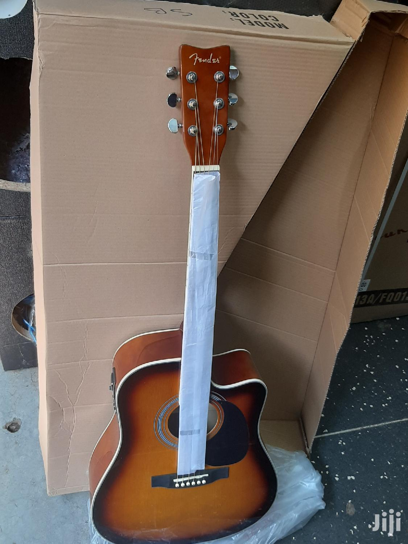 Fender Semi Acoustic Box Guitar