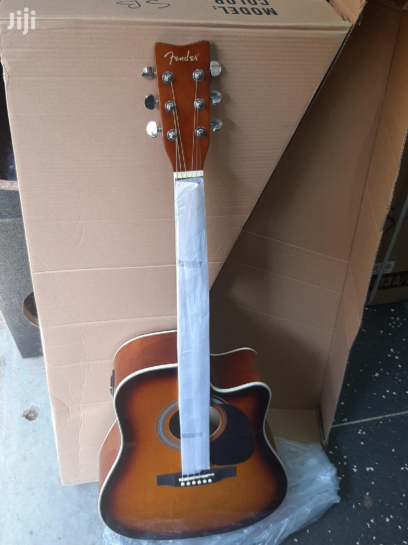 Fender Semi Acoustic Box Guitar   Musical Instruments & Gear for sale in Nairobi Central, Nairobi, Kenya