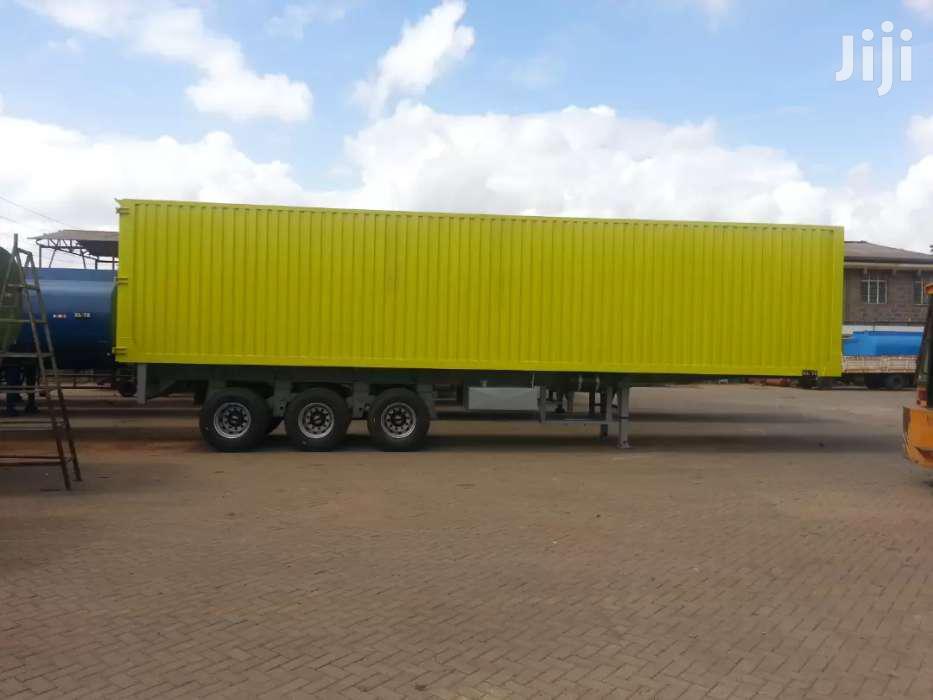 Box Body / Enclosed Body Trailer | Trucks & Trailers for sale in Baba Dogo, Nairobi, Kenya