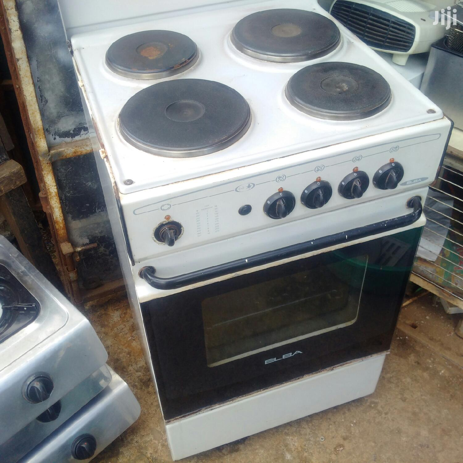 Elba EB-121 4 Plate Electric Cooker Oven