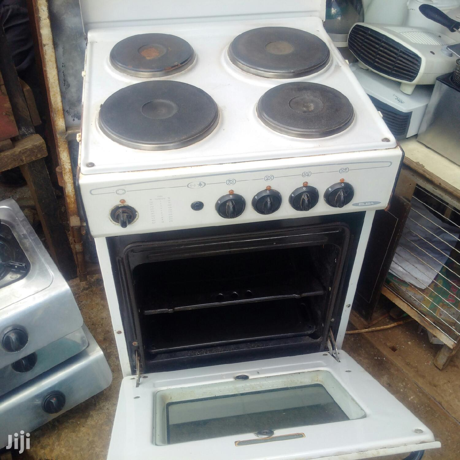Elba EB-121 4 Plate Electric Cooker Oven | Kitchen Appliances for sale in Nairobi Central, Nairobi, Kenya