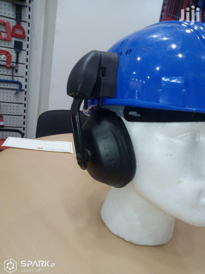 Archive: Safety Helmet With Face Shield And Ear Muffs