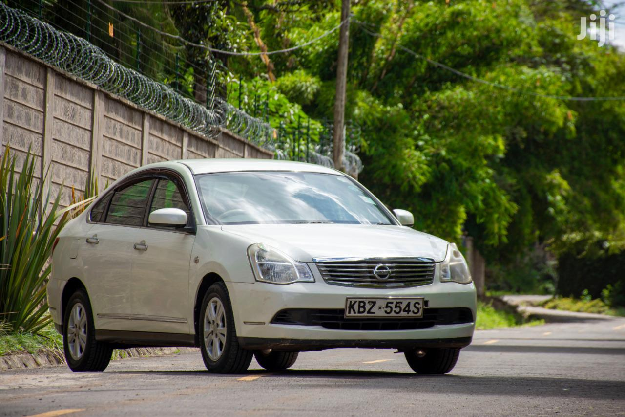 Archive: Nissan Bluebird 2007 White
