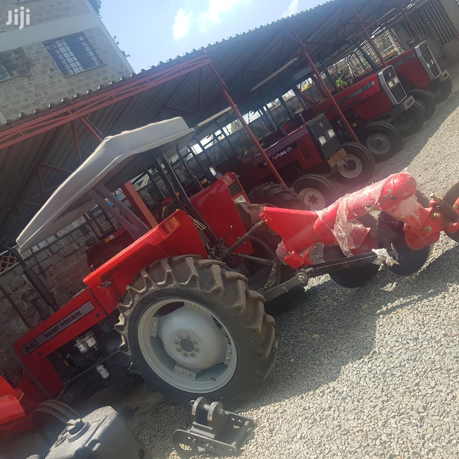 Mf 240 2wd Tractor+2disc Plough+4 Weights And Warranty. | Heavy Equipment for sale in Woodley/Kenyatta Golf Course, Nairobi, Kenya