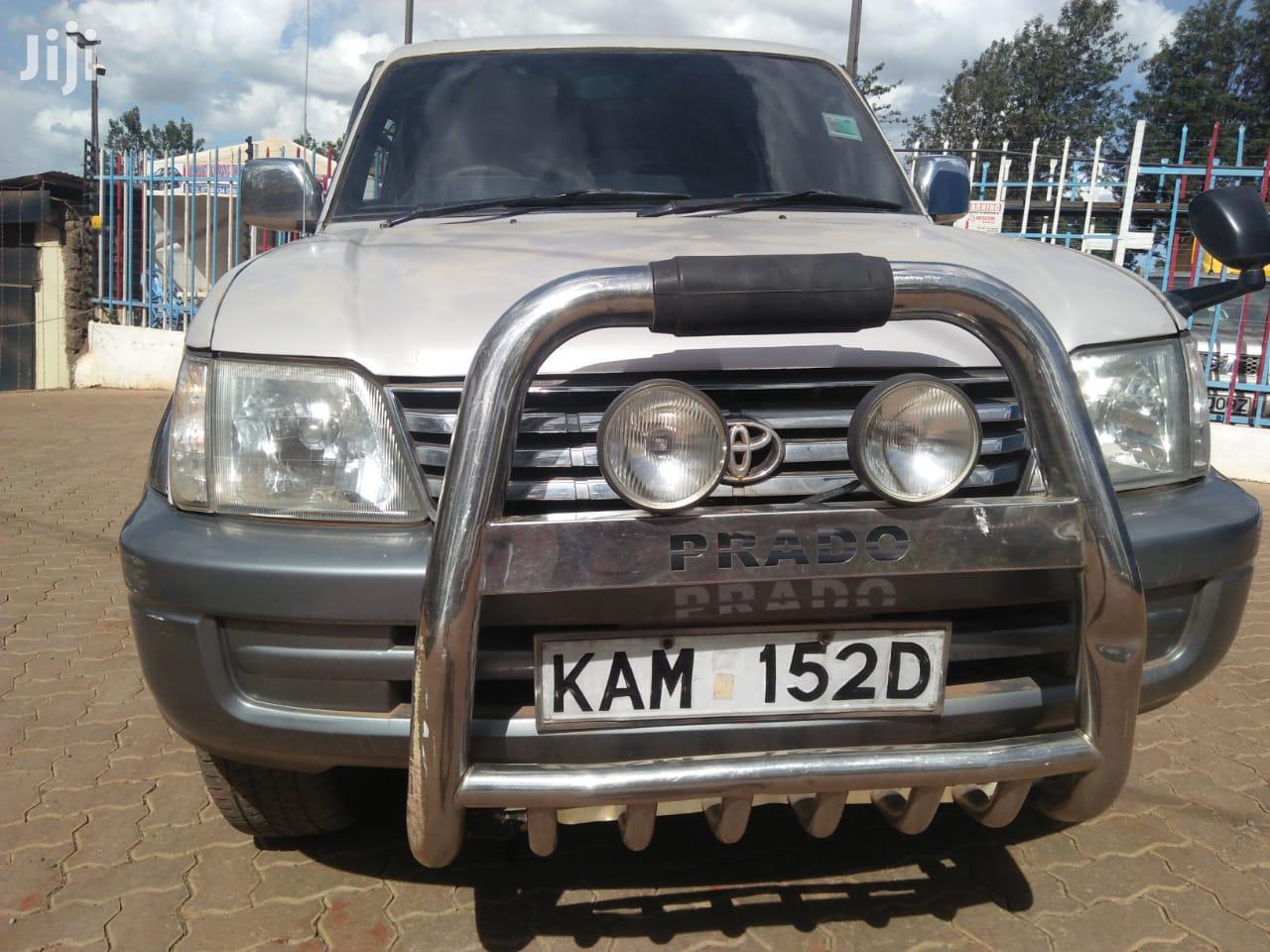 Toyota Land Cruiser Prado 2002 Silver | Cars for sale in Township C, Kiambu, Kenya