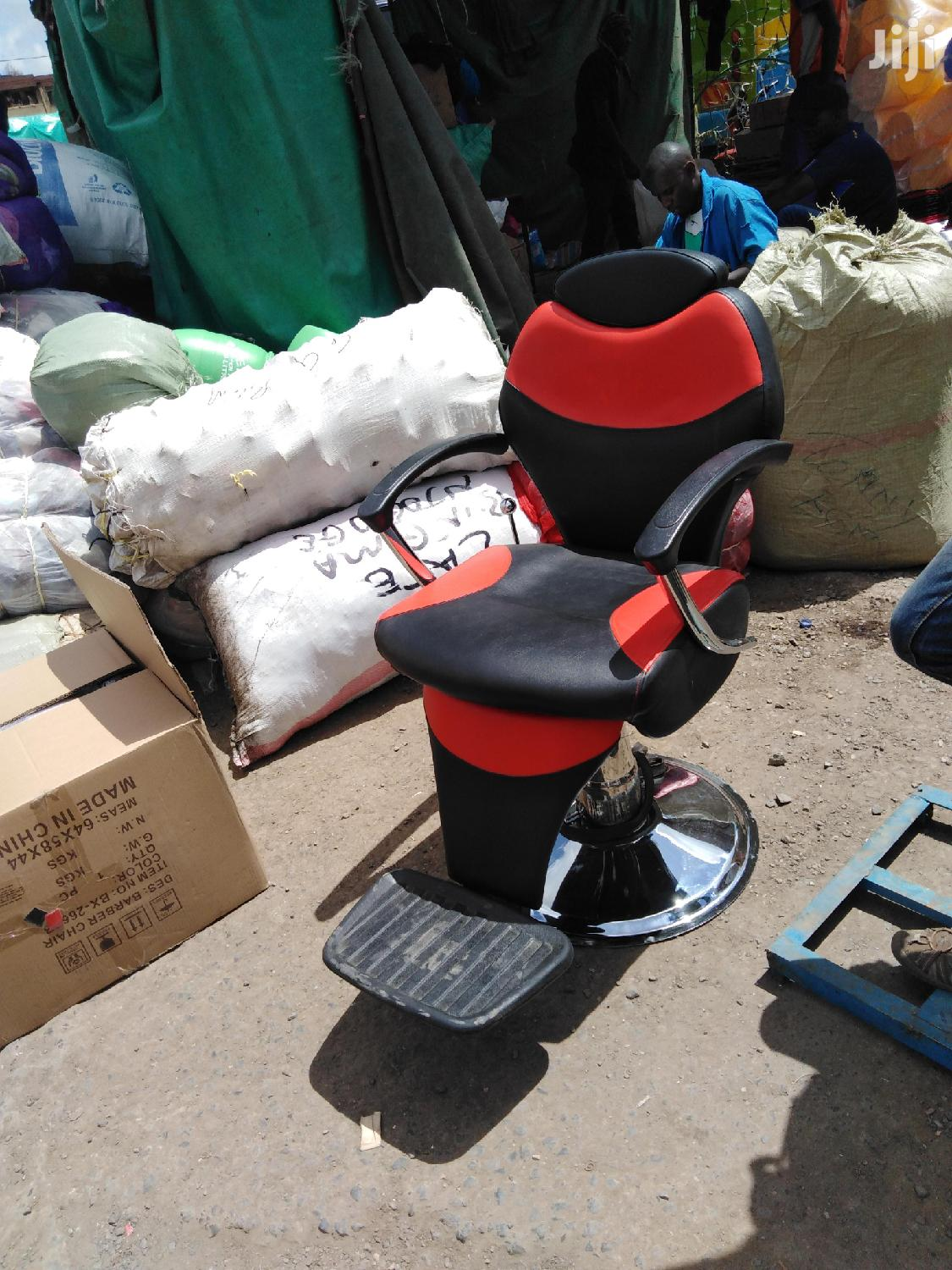 Red And Black Seat | Salon Equipment for sale in Nairobi Central, Nairobi, Kenya