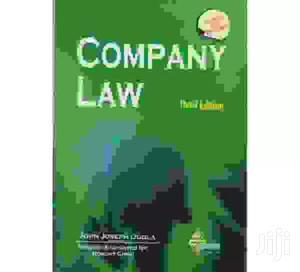 Company Law- John Joseph Ogola   Books & Games for sale in Nairobi, Nairobi Central