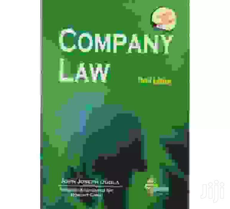 Company Law- John Joseph Ogola